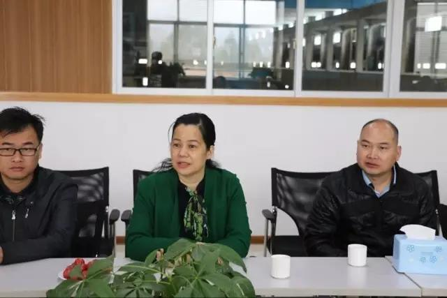 [liyuan bao headline] li yanhua, director of baise science and technology bureau (baise intellectual property office) visited ti